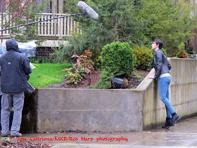 """Photographed in March 2014 while watching filming during my visit to Portland  Meet Teresa """"Trubel"""" Rubel, a young woman played by newcomer Jacqueline Toboni, a University of Michigan student who was discovered when one of the show's producers visited the school in February.  She's a new Grimm!"""