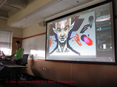 Oscar Baechler's presentation on Krita, an open source art software notes  http://ogbog.net/2014/04/26/krita-notes/