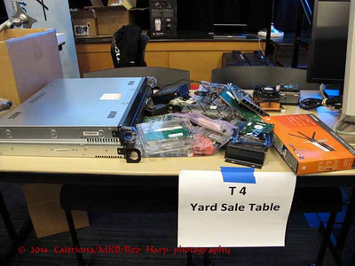 Computer Yard Sale in the vendor hall