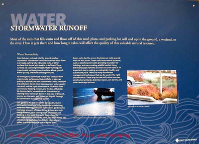 Stormwater runoff system for roof