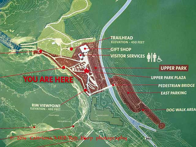 Maps of Snoqualmie Falls area.  There has been significant renovation which opened recently and a new lower falls viewing area