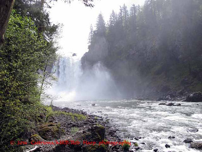 Snoqualmie Falls Lower viewpoint