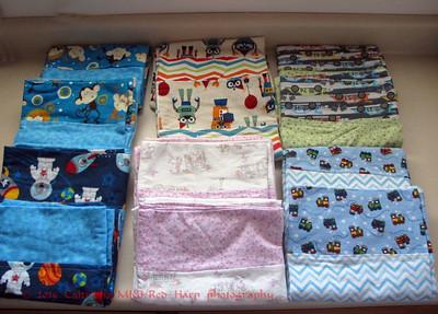 The Pillowcase Challenge.  Mary Bridge hospital collects pillowcases at their booth.  The 13 pillowcases I made to donate