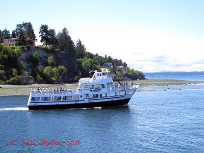 Argosy cruise leaving