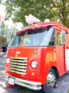 Food truck, Seattle Center
