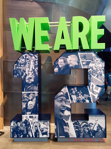 """We are 12"" Seahawks exhibit"