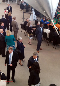 CEO Doug King in lower left, under the Blackbird