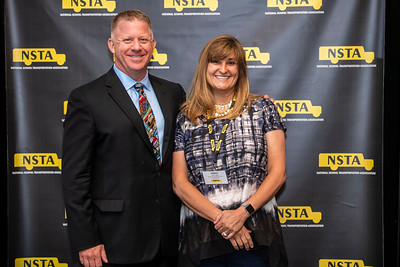 Blake Krapf with Thomas Built Continuing Education Award Recipient Robyn Legan