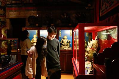 """2021 оны есдүгээр сарын 15.""""Үдшийн музей-2021"""" арга хэмжээг """"ХҮРЭЭ ЦАМ"""" үзэсгэлэн. ГЭРЭЛ ЗУРГИЙГ Т.МӨНХ-УЧРАЛ/MPA"""