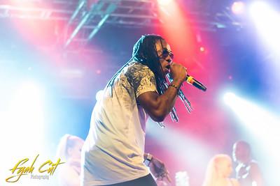 Kuzi Kz performing live at Masta Lion Birthday Bash Helsinki Nosturi August 1st 2015