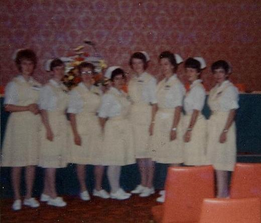 And then there were 8.  Marvel 2nd from left.  Graduation  Jan 1968.