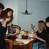 Dinner at Marvel's. grad school: Dr Jo Yafee, Rita, her daughter, Marvel, Harold - Pam's husband.