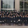 1992 Masters in Social Work graduation - University of Utah.  Marvel, front row, left.