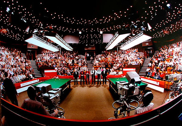 Snooker's Crucible, Sheffield 1983