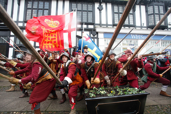 The Battle of Nantwich, Cheshire,2007