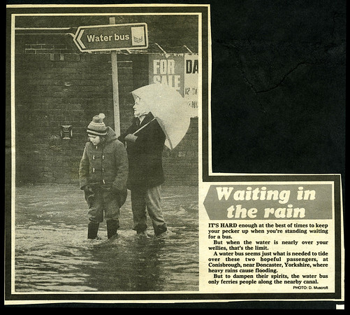Weather Feature, S.Yorkshire.1979