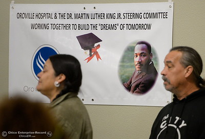 during the Martin Luther King Jr. day celebration at the Southside Community Center in Oroville, Calif. Mon. Jan. 15, 2018. (Bill Husa -- Enterprise-Record)