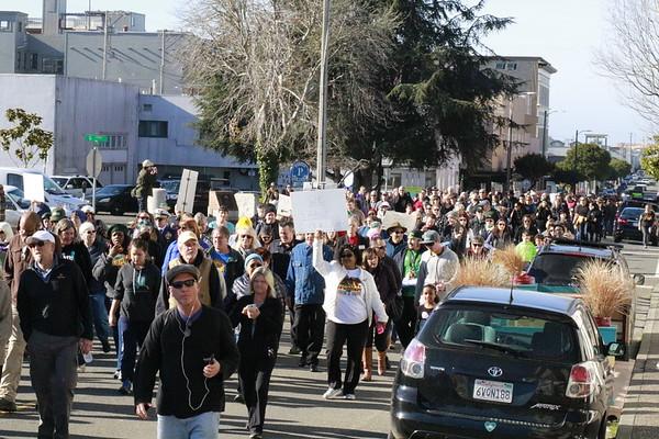 Hundreds attend Eureka MLK Day march