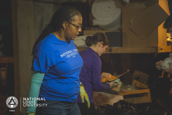MLK Day of Service Project at Cornerstone Community Outreach | January 18, 2016
