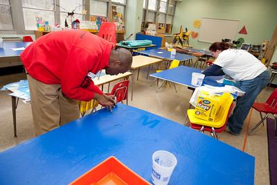 MLK Day 2009 - City Year - Emery Elementary School