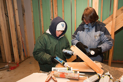 MLK Day 2009 - DC Habitat for Humanity Build