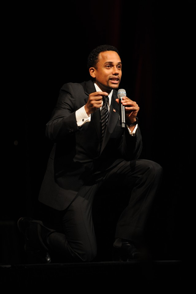 "Hill Harper, who stars on ""CSI: NY,"" spoke at the Kennesaw State University African American Student Alliance (AASA) MLK Celebration on January 18, 2010, on how the dream that Dr. Martin Luther King, Jr. had has affected him in all aspects of his life – from his outreach to youth to his perspectives on relationships and family to manifesting his own dreams."