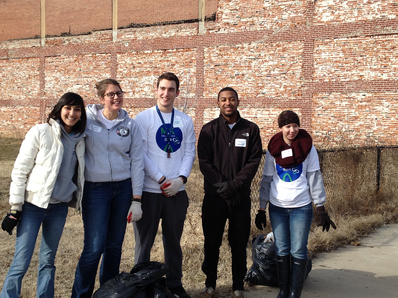 The University of Missouri St. Louis, AmeriCorps VISTA, College Bound, and AmeriCorps Alums joined forces to volunteer at 13 sites across the St. Louis Area. Over 200 volunteers participated.