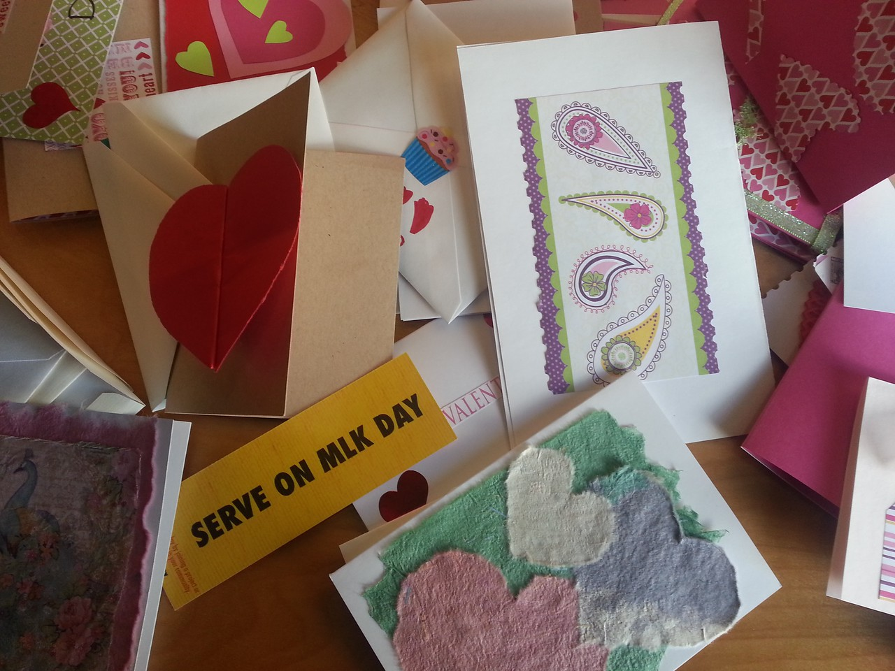 In Nashville, TN approximately 50 RSVP volunteers and their grandchildren and friends gathered to sort and distribute food for Meals on Wheels clients and make greeting cards that will be sent to homebound seniors.