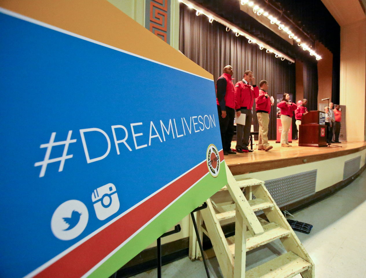 MLK Day - Coolidge High School, Washington, D.C. Corporation for National and Community Service Photo.