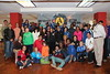 AmeriCorps members and volunteers with United States National Security Advisor Susan Rice after a service day at the Latin American Youth Center in Washington, D.C. on MLK Day 2014. Corporation for National and Community Service Photo.