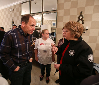 CNCS CEO Wendy Spencer and Secretary of Veterans Affairs Robert A. McDonald speak at the Fisher House located at the Veterans Medical Center in Washington, D.C. on MLK Day of service. Corporation for National and Community Service photo.