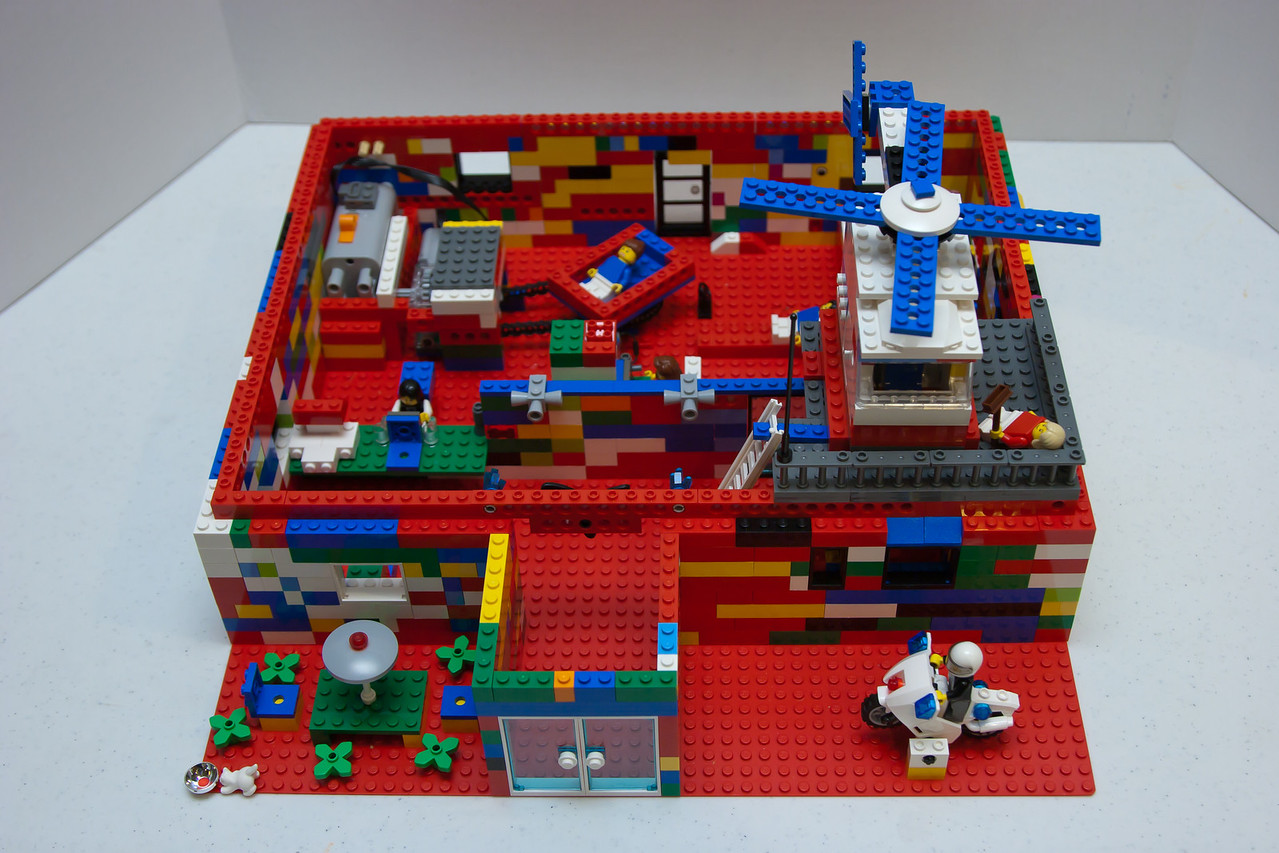 Mighty Lego League's Dr. Office w/ Ultrasound Machine