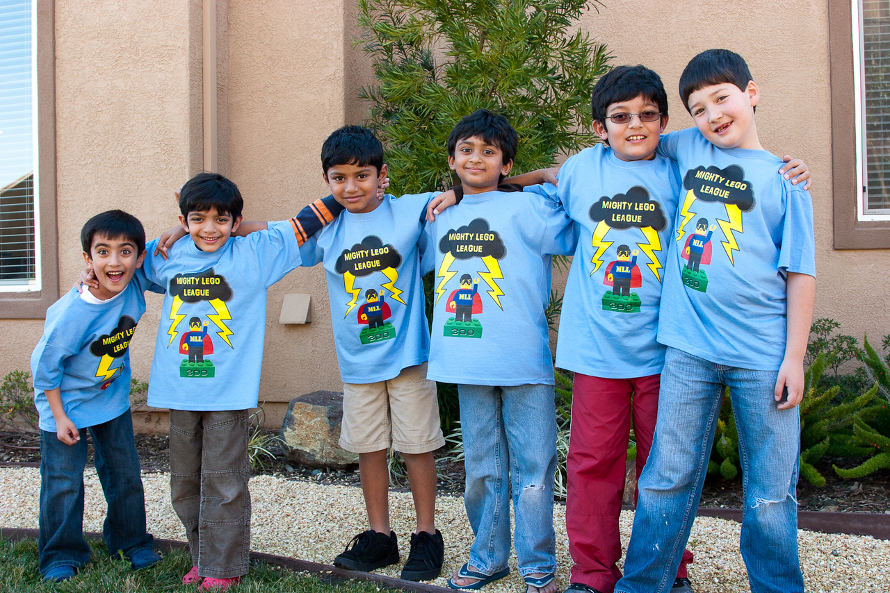 (from left to right) Yash, Rohan, Jonathan, Rithik, Jai, and Dylan
