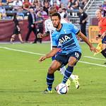 AT&T MLS All-Star Game 2015 between the MLS All-Stars v Tottenham Hotspurs.