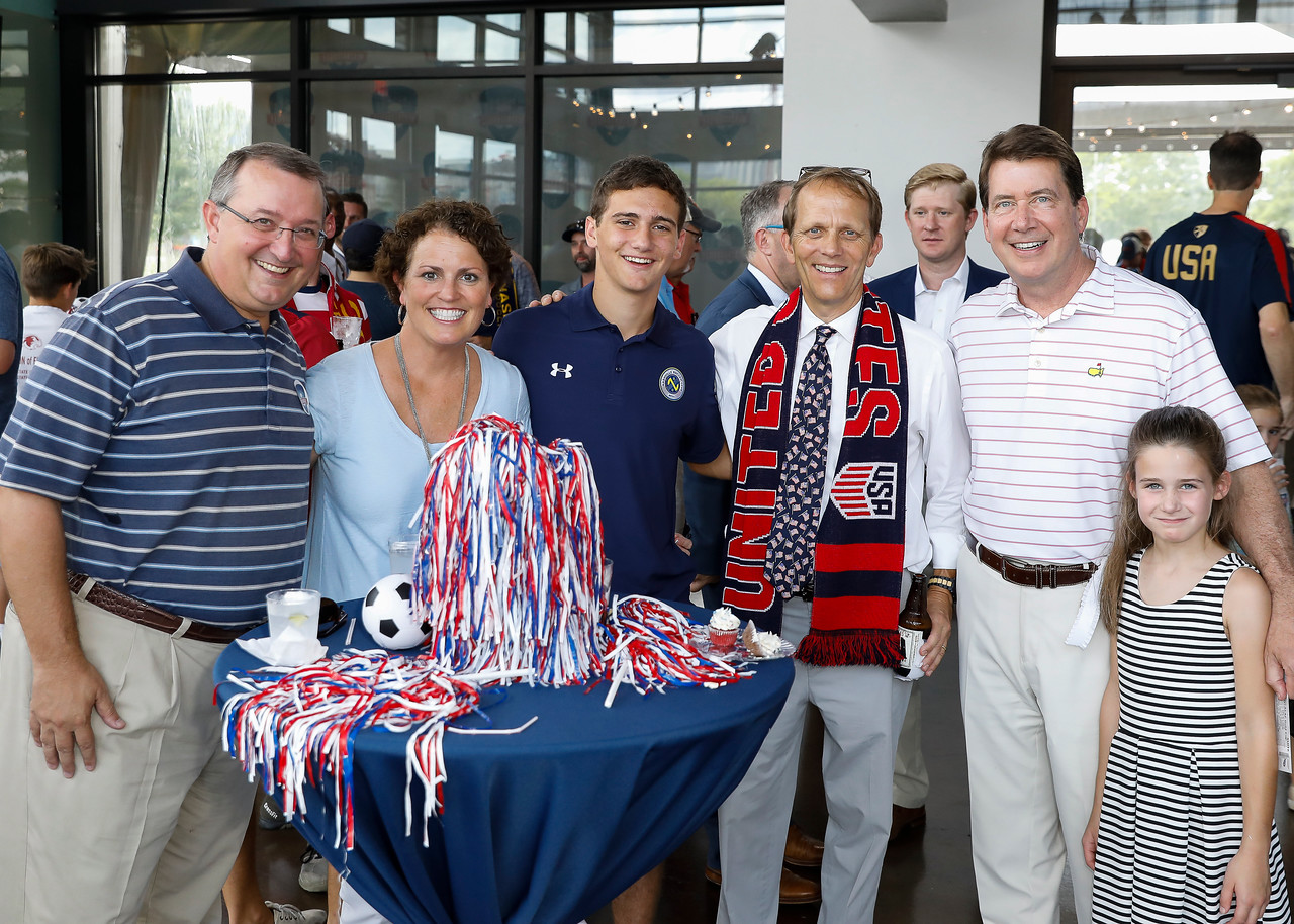 Reception at the Bridge Building prior to the USA vs Panama Soccer game in the Gold Cup, Nashville, Tenn, July 8, 2017