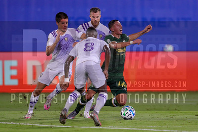 SOCCER: AUG 11 MLS is Back Final - Orlando City SC v Portland Timbers