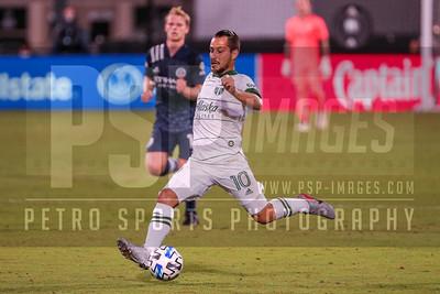 SOCCER: AUG 01 MLS is Back Quarterfinal - New York City FC v Portland Timbers