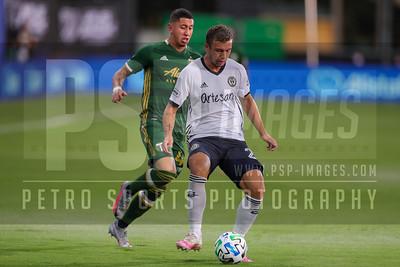 SOCCER: AUG 05 MLS is Back Semifinal - Philadelphia Union v Portland Timbers
