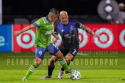 SOCCER: JUL 10 MLS - Seattle Sounders v San Jose Earthquakes