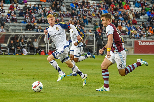 Colorado Rapids vs Real Salt Lake MLS (Major League Soccer) game at Dick's Sporting Goods Park. Final score of the game was Colorado Rapids - 1 and Real Salt Lake - 0.