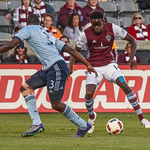 Colorado Rapids vs Real Salt Lake MLS (Major League Soccer) game at Dick's Sporting Goods Park. Final score of the game was Colorado Rapids - 1 and Sporting Kansas City - 0.