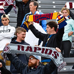 The MLS Western Conference soccer game between the Colorado Rapids and Sporting Kansas City at Dick's Sporting Goods Park in Commerce City, Colorado on May 27, 2017.  Final score of the game was the Colorado Rapids - 1 and Sporting KC - 0.