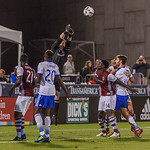 The MLS Western Conference soccer game between the Colorado Rapids and FC Dallas at Dick's Sporting Goods Park in Commerce City, Colorado.   Final score of the game was the Colorado Rapids - 1 and FC Dallas - 1.