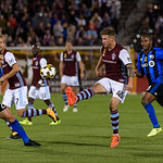 The MLS Western Conference soccer game between the Colorado Rapids and the Montreal Impact at Dick's Sporting Goods Park in Commerce City, Colorado on September 30, 2017.  Final score of the game was the Colorado Rapids - 2 and the Montreal Impact - 1.  Photo Credit: Al Milligan - KLC fotos