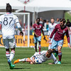 MLS Conference soccer game between the Colorado Rapids and Toronto FC at Dick's Sporting Goods Park in Commerce City, Colorado on April 14, 2018.   Final score of the game was the Colorado Rapids - 2 and Toronto FC - 0.