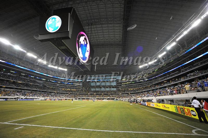 July 26 2009 World Football Challenge - Chelsea FC v Club America:<br /> Cowboys Stadium in Arlington, Texas.<br /> Chelsea FC beats Club America 2-0.