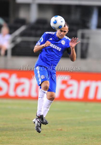 July 26 2009 World Football Challenge - Chelsea FC v Club America:<br />  #6 Ricardo Carvalho of FC in action at the Cowboys Stadium in Arlington, Texas.<br /> Chelsa FC beats Club America 2-0.