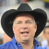 July 26 2009 World Football Challenge - Chelsea FC v Club America:<br />  Garth Brooks in action at the Cowboys Stadium in Arlington, Texas.<br /> Chelsa FC beats Club America 2-0.