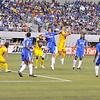 July 26 2009 World Football Challenge - Chelsea FC v Club America:<br />  #10 Salvador Cabanas of CA in action at the Cowboys Stadium in Arlington, Texas.<br /> Chelsa FC beats Club America 2-0.