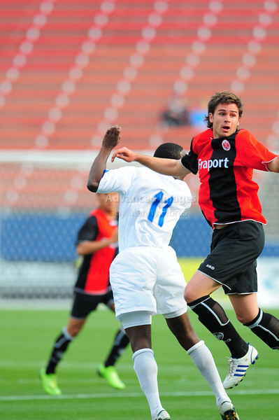 April 10th, 2009: Eintracht Frankfurt Marco Vollhardt #13 in action during a semi-final game at the Dr. Pepper Dallas Cup between the Eintracht Frankfurt and the Vancouver Whitecaps  at the Pizza Hut Park Stadium in Frisco, Tx.